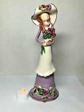 Blue Sky Figurine Treasured Generation Lady Lavender- 2002 Heather Goldminc dk26