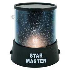 Star Projector Light Night Lamp Sky Cosmos LED Master Romantic Starry Baby Decor