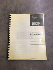 Icom IC-R7100 Ham Radio Receiver Service Manual