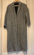 Topshop Duster Coat Size 8 Mini Dog Tooth Check