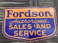 More details for  fordson enamel sign