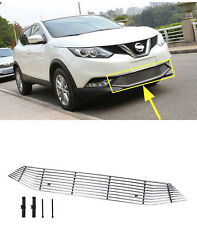 Front Grille Around Trim for 2014-2017 Nissan Qashqai J11 Rogue Sport Steel