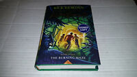 Trials of Apollo Book 3: The Burning Maze by Rick Riordan (2018) SIGNED 1st/1st