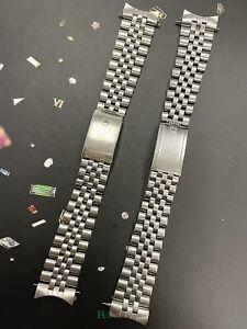 Rolex Datejust 20mm Men's Jubilee Bracelet Steel Crown Band 62510H (LOT) Ref1601