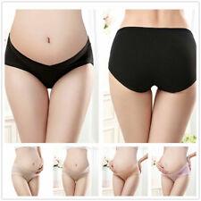 3X Women Under the Bump Maternity Knickers Pregnancy Underwear Cotton Briefs UK