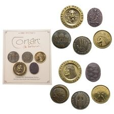Conan the Barbarian NEW * Deluxe Coin Set #2 * Prop Replicas Licensed 5-pc Set