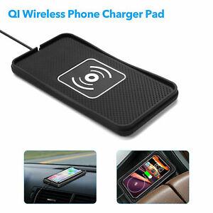 Tapis de chargeur de téléphone de voiture sans fil universel pour iPhone Samsung
