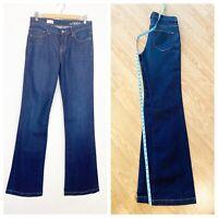 "GAP Womens Size 29 Tall Long Mid Rise Flare Jeans Denim - 37"" inseam - 29t 31x37"