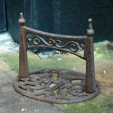 Boot Scraper Cast Iron Ellipse