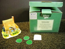 Lilliput Lane Paint Your Own Suffolk Cottage With Box Code #761 Partly Finished