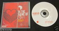 JARS OF CLAY/SIXPENCE NONE THE RICHER 'IN THE NAME OF LOVE' 2004 ADVANCE CD