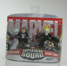 PUNISHER AND GHOST RIDER MARVEL SUPER HERO SQUAD WAVE 2 (2006) *NIP*