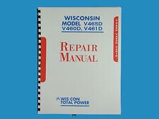 Wisconsin V465D, V460D, V461D Engine Repair Manual      *325