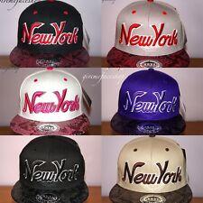 NY Snakeskin Snapback caps, flat peak fitted hats, boy/girls, hip hop, bling