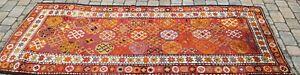 antike Kasak Brücke/Galerie Kaukasus Teppich tappeto, rug carpet 267x104 cm