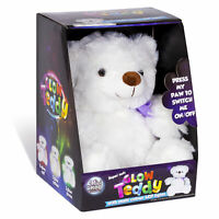My First Light Up Colours Plush Teddy Cuddly Toy Super Soft Glow Perfect Gift