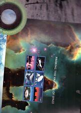 Space Achievement and Exploration Souvenir mint sheet  5 uncut usps World Stamp