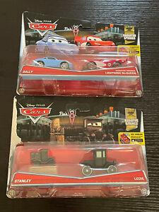 Disney Pixar Cars Stanley/Lizzie; Sally/Radiator Springs Lightning McQueen