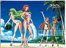 Code Geass Black at the Beach Cloth Prize Poster Anime Licensed NEW