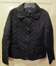 AWESOME COLE HAAN BLACK QUILTED THERMORE LADIES JACKET SZ L NWTGS $189 RETAIL