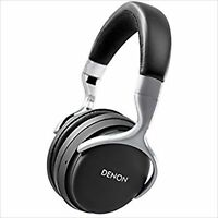 DENON AH-GC20EM GLOBE CRUISER over-ear headphones wireless Bluetooth Black USED