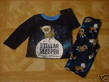 Carter's Infant Boys 2 Piece Stellar Dog Sleeper Pajama Set Size 18 Months
