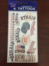 San Francisco SF Giants Temporary Tattoos