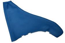 MID BLUE LEATHER FITS VAUXHALL OPEL ASTRA MK4 G HANDBRAKE GAITER CUSTOM MADE