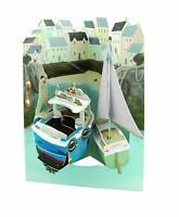 Harbor - Greeting Card 3D Interactive Swing Card / Santoro Graphics