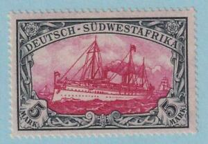 GERMAN SOUTHWEST AFRICA 25 MINT VERY LIGHTLY HINGED OG *  NO FAULTS SUPERB!