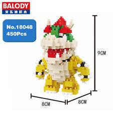 Balody 18048 Super Mario Bowser Monster Diamond Mini Building Nano Blocks Toy