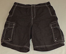 Gander Mountain  Black Zipper Front Cargo Shorts     Size M      K#9067