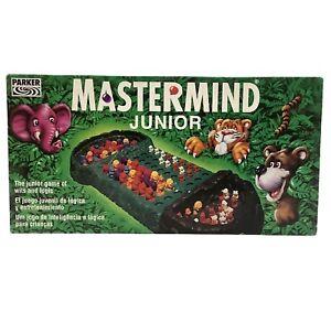 Mastermind Junior - Jungle Animals - Hasbro - Vintage 1994 - COMPLETE