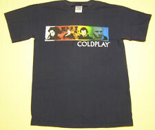 Coldplay 2006 Twisted Logic Tour T-Shirt size S Black