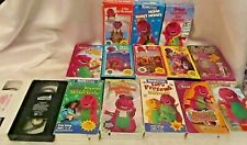 Barney 15 Tape VHS Lot -A Day @the Beach, Three Wishes, CampfireSingAlong