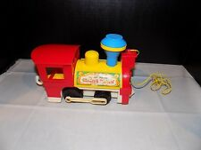 Vintage Fisher-Price Little PeopleCircus Train engine