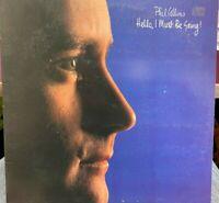 PHIL COLLINS HELLO I MUST BE GOING LP 1982 Atlantic 80035 GATEFOLD INNER