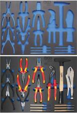 Werkzeugwagen-Einlage Set Hammer...
