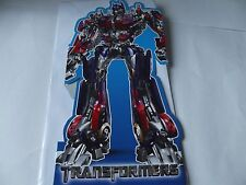"""Lovely """"Transformers"""" Birthday Greetings Card . Free P&P."""