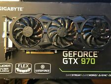Gigabyte GeForce GTX 970, 4GB, G1 Gaming, Windforce. PCI Express Graphics Card