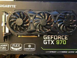Gigabyte GeForce GTX 970, 4GB, G1 Gaming, Windforce. PCI Express Graphics Card