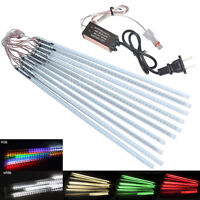 10 Tubes String 50cm 60LED 3528 SMD Meteor Shower Rain lights DC 12V 2Pin Power