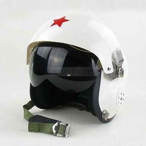 Motorcycle/Scooter helmet & Air force Jet Pilot flight helmet - White