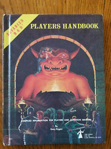 AD&D Player's Handbook 1st Edition - 6th Printing 1980