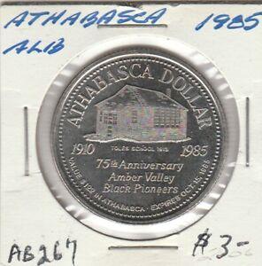 Athabasca, AB 1985 Trade Dollar