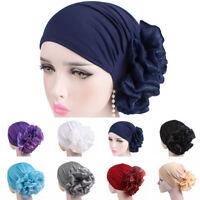 Muslim Ladies Cancer Chemo Hat Hijab Hair Loss Head Scarf Turban Cap Wrap Casual