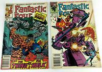 BD Comic VO  Fantastic Four  N°320 et 344 1988 1990  Marvel  Envoi rapide suivi