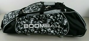 NEW Boombah Spartan Stealth Camo Bat Bag Black Gray White