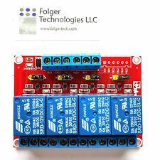SRD-12VDC-SL-C 4 Channel DC12V High/Low Level Power Relay Module Board