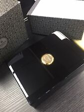 Authentic Rolex Black Lacquered & Polished Wood Box 50.00.02 With Outer Box